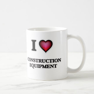 Taza De Café Amo el material de construcción