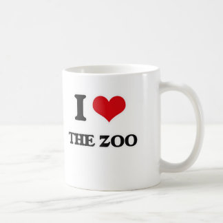 Taza De Café Amo el parque zoológico