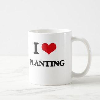 Taza De Café Amo el plantar