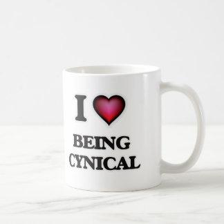 Taza De Café Amo el ser cínico