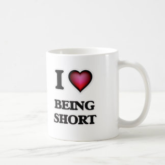 Taza De Café Amo el ser corto