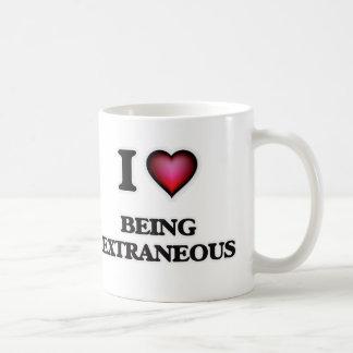 Taza De Café Amo el ser extraño