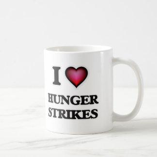 Taza De Café Amo huelgas de hambre