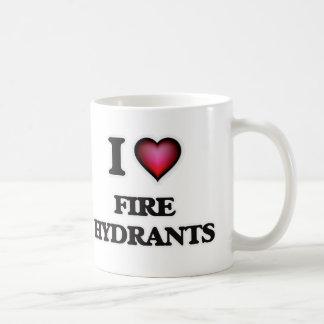 Taza De Café Amo las bocas de incendios