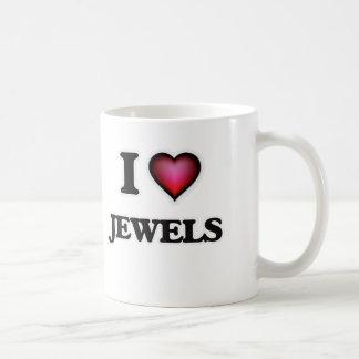 Taza De Café Amo las joyas