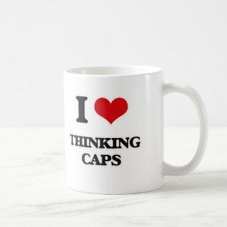 Taza De Café Amo los casquillos de pensamiento