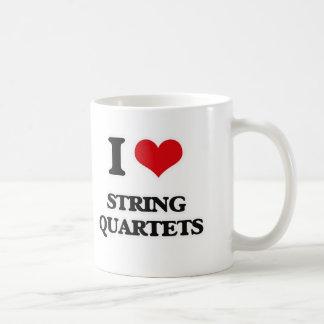 Taza De Café Amo los cuartetos de cuerda
