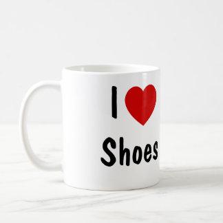 Taza De Café Amo los zapatos