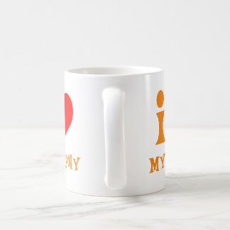 Taza De Café Amo mi Brony - naranja
