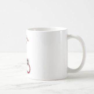 Taza De Café Amo mi estetoscopio - rojo