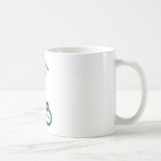 Taza De Café Amo mi estetoscopio - verde