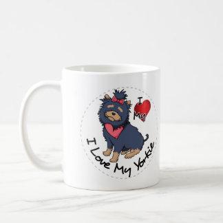 Taza De Café Amo mi perro de Yorkie
