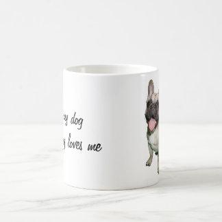 Taza De Café Amo mi perro y mi perro me ama