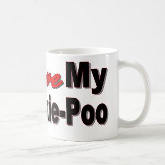 Taza De Café Amo mi Yorkie-Poo