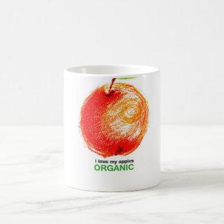 Taza De Café Amo mis manzanas orgánicas