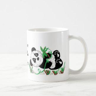 Taza De Café Amo osos de panda