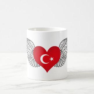 Taza De Café Amo Turquía - alas