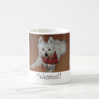 Taza De Café ¡Amo Westies!