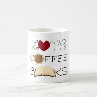 Taza De Café Amor, café, libros