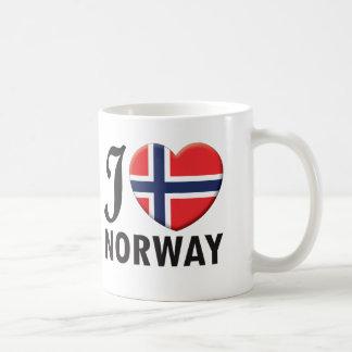 Taza De Café Amor de Noruega