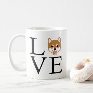 Taza De Café Amor de Shiba Inu