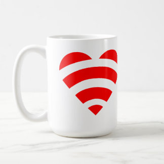 Taza De Café Amor de Wifi