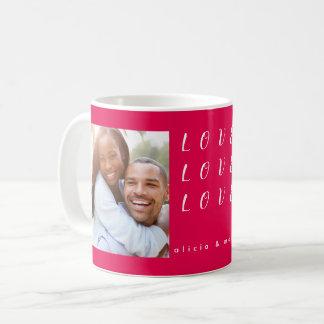Taza De Café Amor del el día de San Valentín