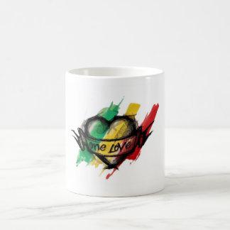 Taza De Café Amor del reggae uno de Cori Reith Rasta