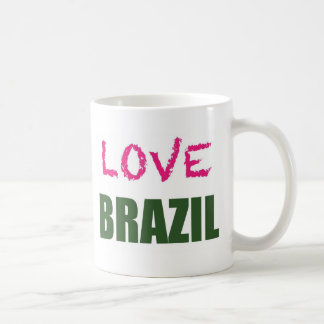 Taza De Café Amor el Brasil