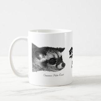 Taza De Café Amor MacRitchie - civeta de palma común