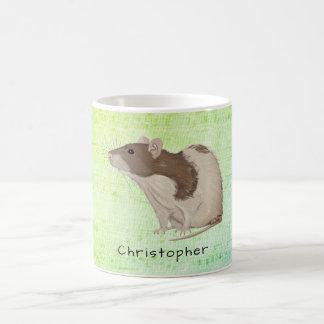 Taza De Café Añada su diseño conocido de la rata
