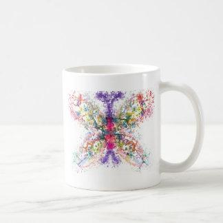 Taza De Café Anatomía de la mariposa
