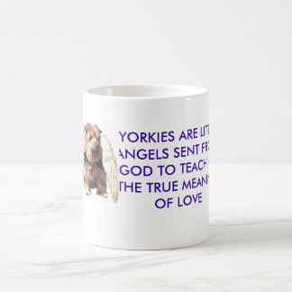 Taza De Café Ángel de Yorkie