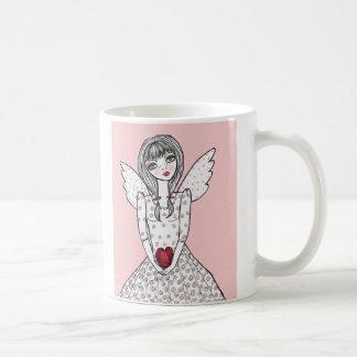 Taza De Café ángel rosado