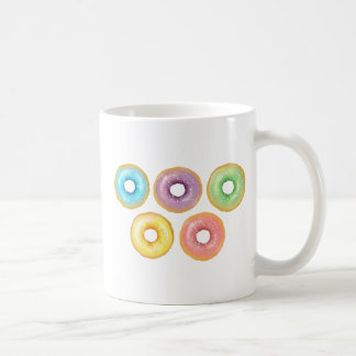 Taza De Café Anillos de espuma del arco iris