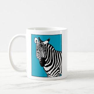 Taza De Café Animal fresco de la cebra