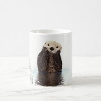 Taza De Café Animal mullido adorable lindo de la nutria