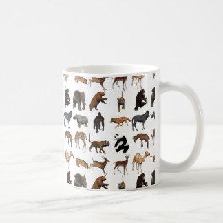 Taza De Café Animales salvajes