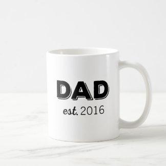 Taza De Café Año de encargo del PAPÁ establecido
