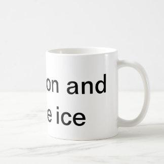 Taza De Café Anoto por intervalos el hielo