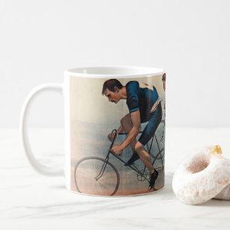 Taza De Café Anuncio 1896 de Lithos de la bicicleta