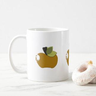 Taza De Café Apple amarillo oscuro oscuro
