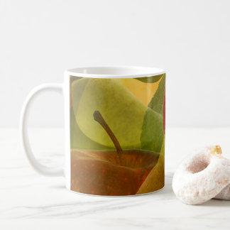 Taza De Café Apple y pera