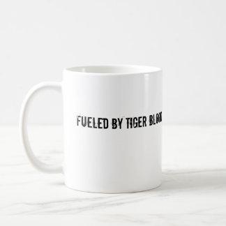 Taza De Café Aprovisionado de combustible por sangre del tigre