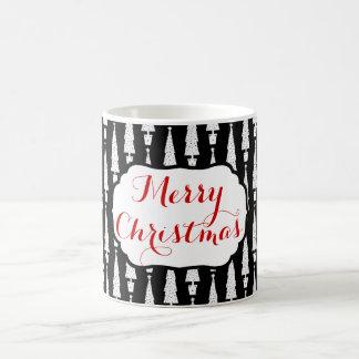 Taza De Café Árbol de navidad/Felices Navidad