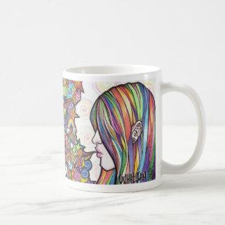 Taza De Café arco iris