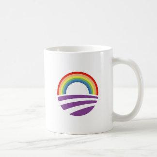 Taza De Café Arco iris de Obama