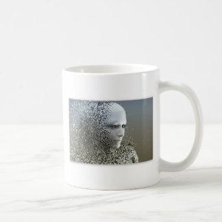 Taza De Café Arte abstracto humano