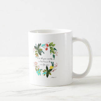 Taza De Café Arte cristiano fresco - 1 5:7 de Peter