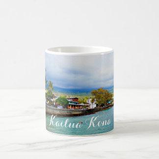 Taza De Café Arte de Digitaces de la pintura de aceite de